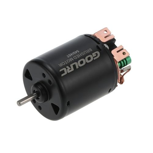 GoolRC 540 45T 4 Pole gebürstet Motor und WP-1060-RTR 60A Wasserdichter gebürsteter ESC elektronischer Geschwindigkeitsregler mit 5V / 2A BEC für 1/10 RC Auto