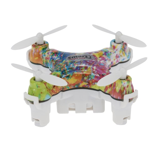 Original Cheerson CX-10D 4CH 6-Axis Gyro RTF Mini RC Quadcopter with 360° Flips and Height Hold Function
