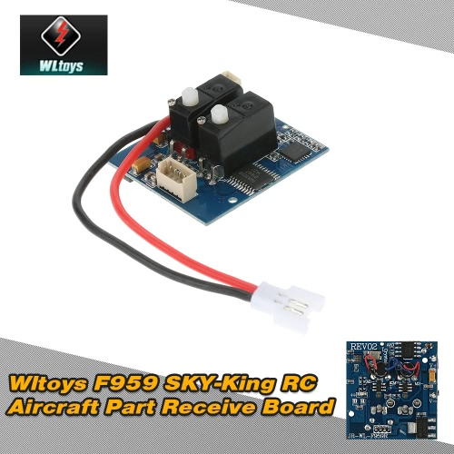Original Wltoys F959 SKY-King RC Aircraft Part F959-011 Receive Board