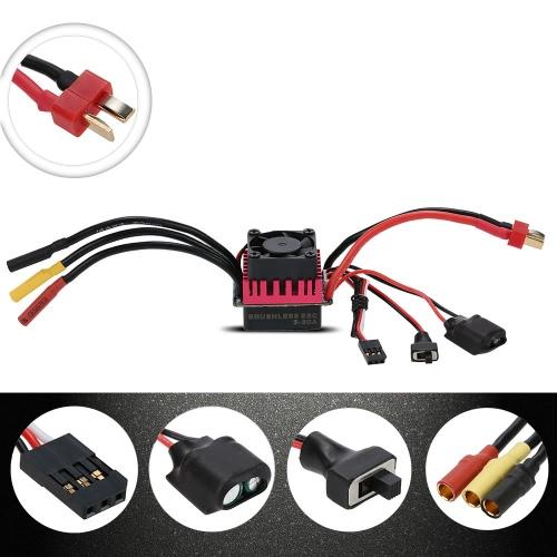 Оригинал GoolRC S3650 3900KV Sensorless безщеточный 60A Brushless ESC и Программа Card Combo Набор для RC 1/10 Car Truck
