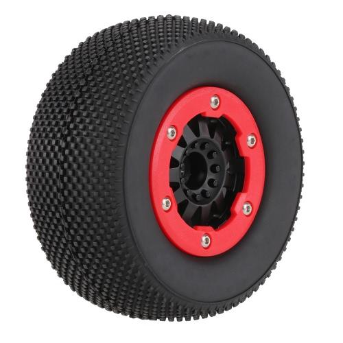 1/10ショートレーシングトラックRCカー用ホイールのリムとの4本AUSTAR AX-3008高性能108ミリメートル1/10スケールタイヤ