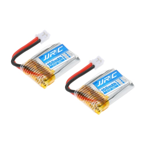 2pcs Original JJRC H36-004 3.7V 150mAh 30C Lipo Battery for JJRC H36 RC Drone Quadcopter