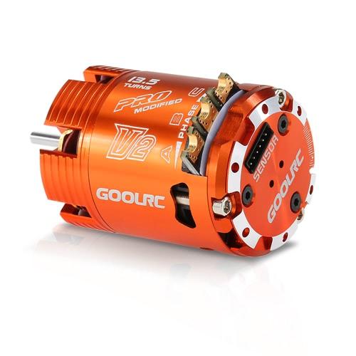 GoolRC 540 13.5T Modified 2860KV Sensored Brushless-Timing Einstellbare Motor für 1/10 RC Car