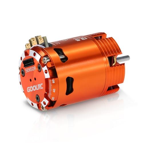 GoolRC 540 13.5T Modificato 2860KV Sensore Brushless Timing motore regolabile per 1/10 RC Car