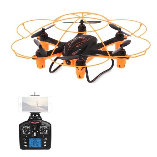 WLtoys Q383-B Wifi FPV 0,3-мегапиксельная камера RTF RC Hexacopter с G-датчиком Функция режима безголового