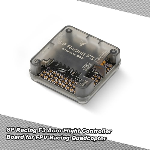 SP Racing F3 Acro Flight Controller 6DOF Cleanflight Integrated OSD for QAV210 QAV250 ZMR250 FPV Racing Drone Quadcopter