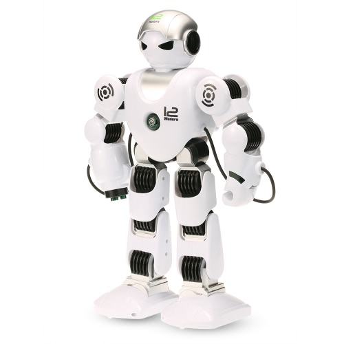 LE NENG TOYS K1 Intelligent Programmable Humaniod 2.4G Remote Control Robot with Shoot Music Dance Arm-swing Function