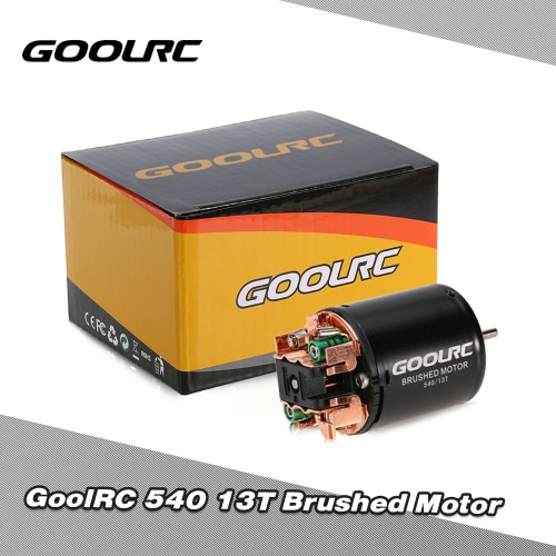 GoolRC 540 13T Brushed Motor for 1/10 Traxxas Ford F-150 RC Car