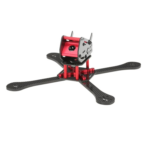 220 мм Carbon Fiber 4 Axis Quadcopter Frame Kit для DIY 220 FPV Racing Quadcopter