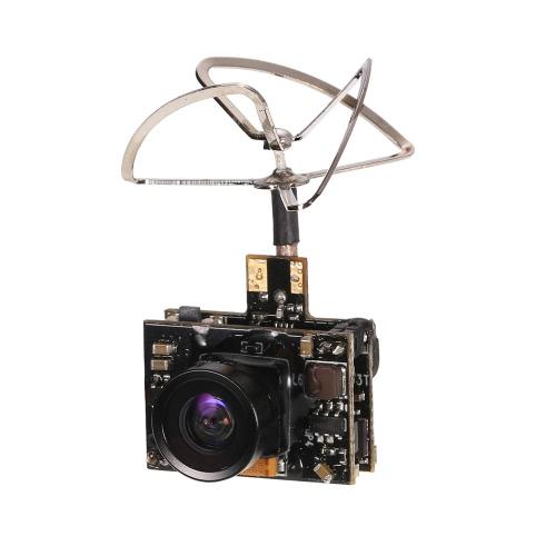 GoolRC 800TV FPVカメラ5.8G 40CH 100分の25 / 200mWのトランスミッタクローバーアンテナInductrix QX90 H36 T36 NH-010用マイクロレーシングドローン