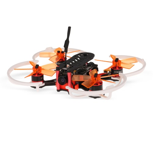 GoolRC G90 Pro 90mm 5.8G 48CH Micro FPV Racing Drone brushless Quadcopter w / Radiolink récepteur F3 contrôleur de vol BNF