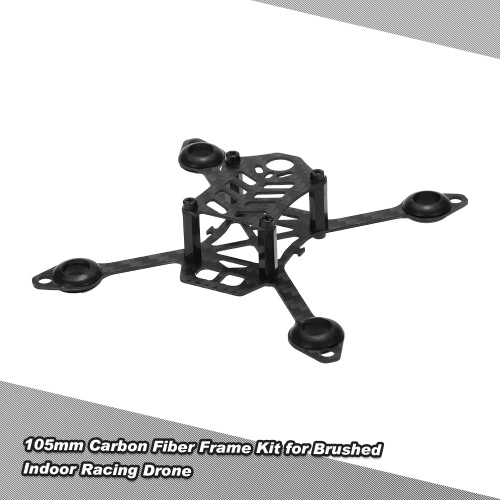 105mm Carbon Fiber Frame Kit for DIY Micro FPV Racing Quadcopter Support 8520 Coreless Motor