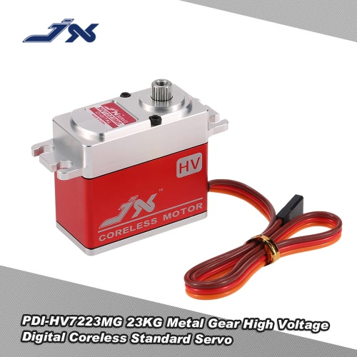 JX PDI-HV7223MG 23KG Metal Gear High Voltage Digital Coreless Standard Servo for RC 550-700 Airplane Helicopter
