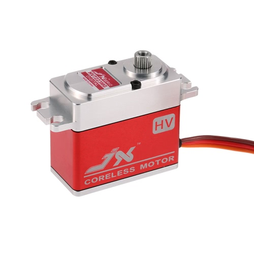 JX PDI-HV7223MG 23KG Metal Gear High Voltage Digital Coreless Servo standard pour RC 550-700 Helicopter d'avion