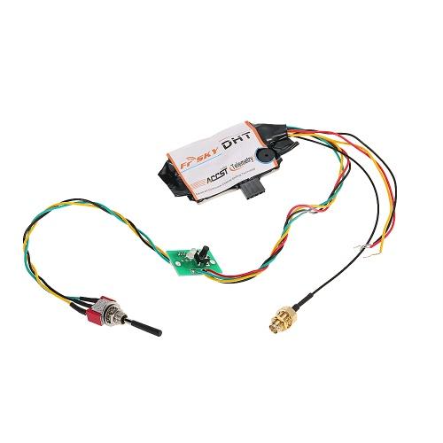 PPMトランスミッターリモコン用オリジナルFrSky DHT 2.4Gユニバーサルラジオアダプタテレメトリモジュール