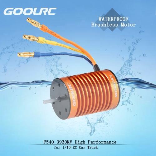 GoolRC F540 3930KV motore impermeabile senza spazzola per 1/10 RC WLtoys auto WLtoys 10428/12428 HG P601