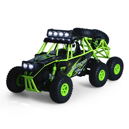 Original Wltoys 18628 1/18 2.4G 6WD Electric Off-Road Rock Crawler Climbing RC Buggy Car RTR