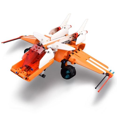 287Pcs doppelte E C54006W Baustein-Stern-Kriege Skyhopper DIY Flugzeug-Gebäude-Installationssatz-Spielwaren