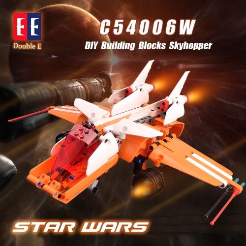 287Pcs Double E C54006W Building Blocks Star Wars Skyhopper DIY Aircraft Building Kit Toys от Tomtop.com INT
