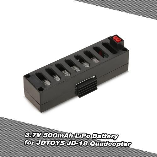 3.7V 500mAh LiPo Battery for JDTOYS JD-18 JUN YI TOYS JY018 Wifi FPV Quadcopter