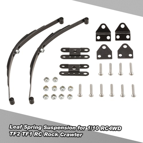 1/10 Rock Crawler Hard Leaf Spring Suspension Steel Bar for F350 D90 Traxxas HSP Redcat RC4WD Tamiya Axial SCX10 HPI