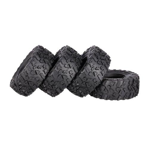 4Pcs AUSTAR AX-4021 2.2 Inch 130mm Rock Crawler Tires for 1/10 Traxxas D90 SCX10 AXIAL RC Car