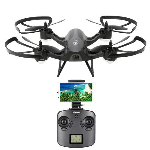 Gteng T905HW Wifi FPV 720P Camera 2.4G 6 Axis Gyro 3D Flip Headless Altitude Hold RC Quadcopter