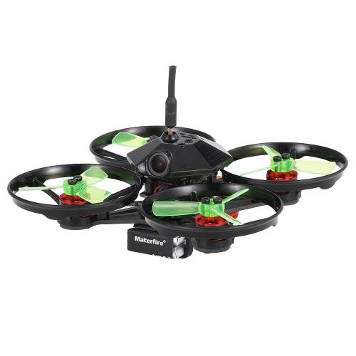 Броня Makerfire 90 90 мм 5.8G 600TVL камера безщеточный Micro FPV Racing Drone Quadcopter с F3 OSD FrskyXM Receiver BNF