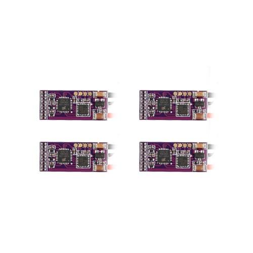 4Pcs EMAX 6A Brushless ESC Bullet Serie BLHeli-S Dshot 2S Elektrischer Geschwindigkeitsregler für 88 90 100 FPV Racer