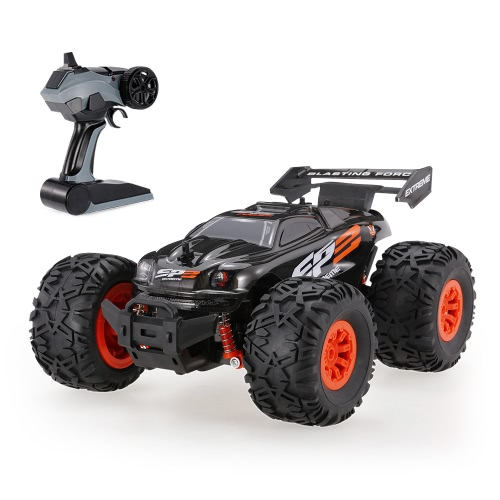 CRAZON 1/18 2.4G 2WD Electric Monster Truck Off-road Vehicle RTR RC Car