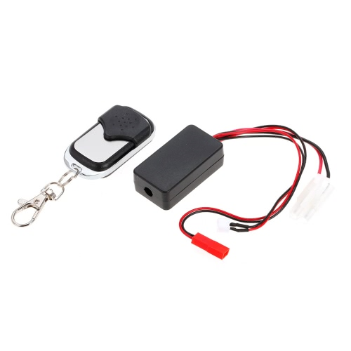 Automatic Crawler Winch Control Wireless Remote Controller Receiver for 1/10 Axial SCX10 TAMIYA CC01 Climbing Off-road Car Truck