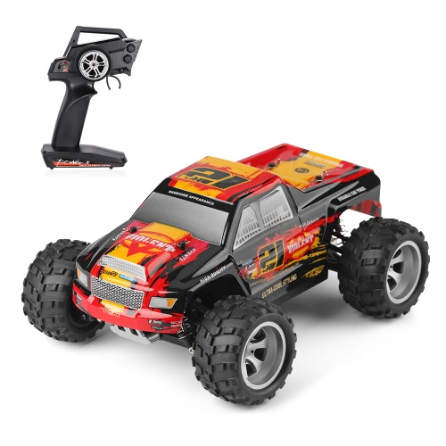 Original WLtoys 18402 2.4GHz 4WD 1/18 25km/h Brushed Electric RTR Monster Truck RC Car