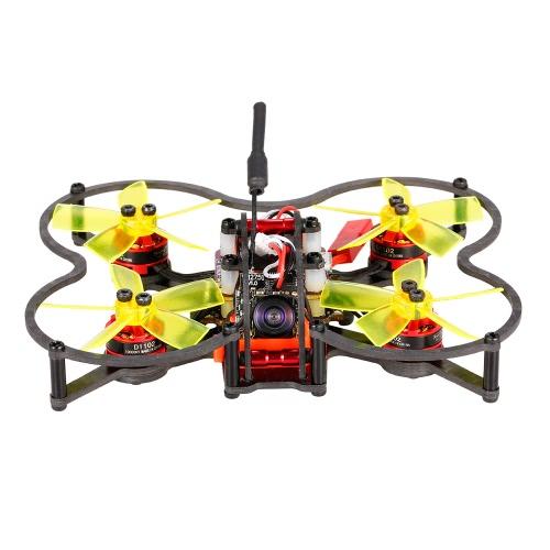 GoolRC G80 Pro 80mm 5.8G 48CH Micro FPV Racing Drone sem escova Quadcopter controlador de vôo F3 com receptor FlySky BNF