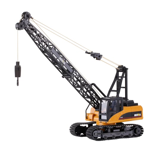 HUINA TOYS 1572 1/14 2.4Ghz 15CH Remote Control Construction Crane Engineering Truck RC Car Kids Toys Gift