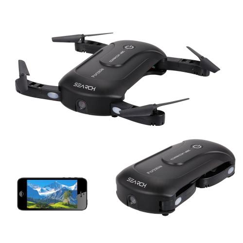 Kamera 2.0MP Wifi FPV Składana wysokość wnęki na Pocket Voice Sterowanie głosem G-sensor App Control Selfie Quadcopter