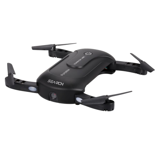 2.0MP Camera Selfie Drone Wifi FPV Foldable RC Quadcopter