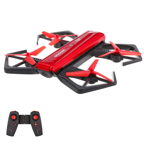 GoolRC T33 WIFI FPV 720P HD Camera Quadcopter Foldable G-sensor Mini RC Selfie Pocket Drone Height Hold