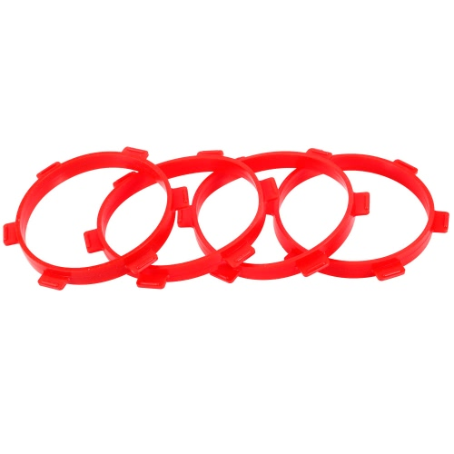 4pcs RC Car Stick Tire Ring for Tire Glue / Gluing Bands Fit 1/8 Buggy 1/10 Short-Course Scale Model Remote Control Car