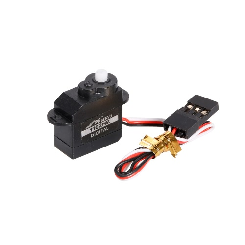 JX PDI-1102HB Digitale Plastica Coreless Motor Gear Mini Servo