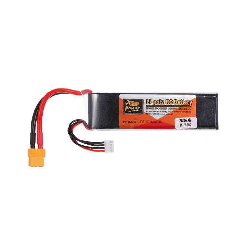 ZOP Power 3S 11.1V 2800mAh 30C LiPo Battery XT60 Plug