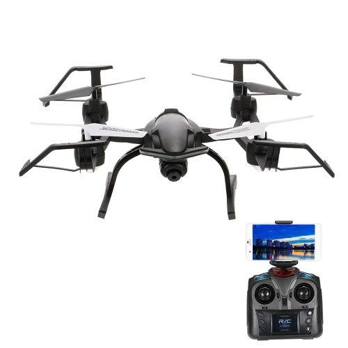 668-R8WH 2.4G 4CH 0.3MP Câmera Wifi FPV Drone Altitude Hold One Chave Return G-sensor Quadcopter