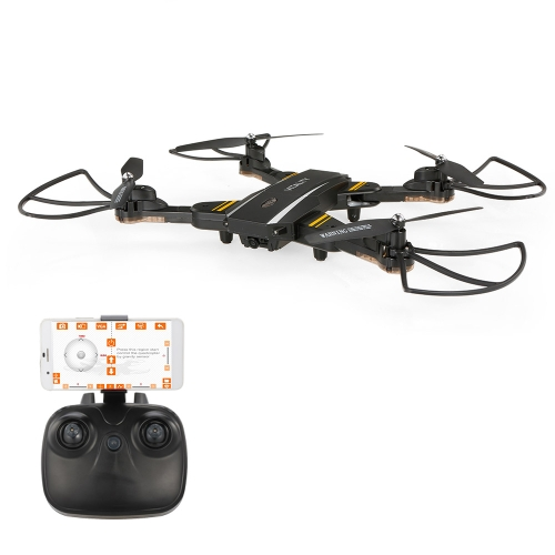 TKKJ TK116W 720 P Caméra Wifi FPV Pliable Drone Altitude Tenir Une Clé Retour G-capteur Selfie Quadcopter RTF