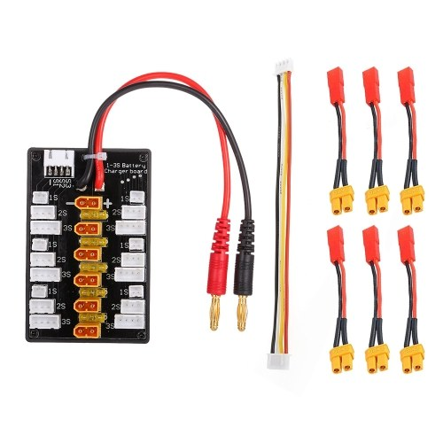 1-3S XT30 Plug Li-Po аккумуляторное параллельное зарядное устройство