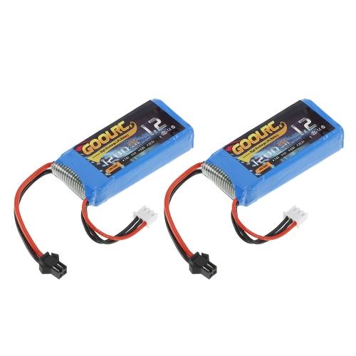 2 stücke GoolRC 7,4 V 1200 mAh 25C SM Stecker LiPo Batterie für JJR / C H26 H26D H26G H26W H26WH RC Quadcopter