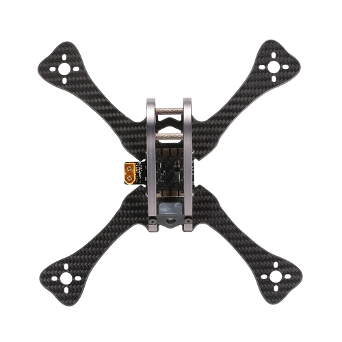 GEPRC GEP LX5 ONE Leopard 220mm X-Type 5in Carbon Fibre FPV Racing Drone Quadcopter Zestaw ramek z XT60 Power Distributor