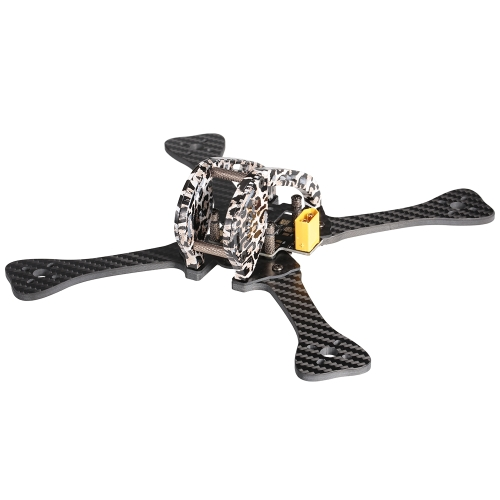GEPRC GEP-LX5 V3 220mm X-Type 5in Carbon Fiber FPV Racing Drone Quadcopter Frame Kit with XT60 Power Distributor