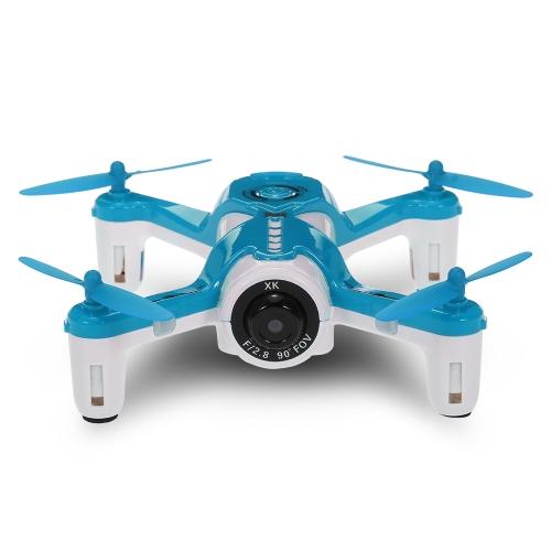 XK X150W 2.4G 720PカメラWifi FPVオプティカルフローポジショニング高度コントローラー付きRCクアドコプター