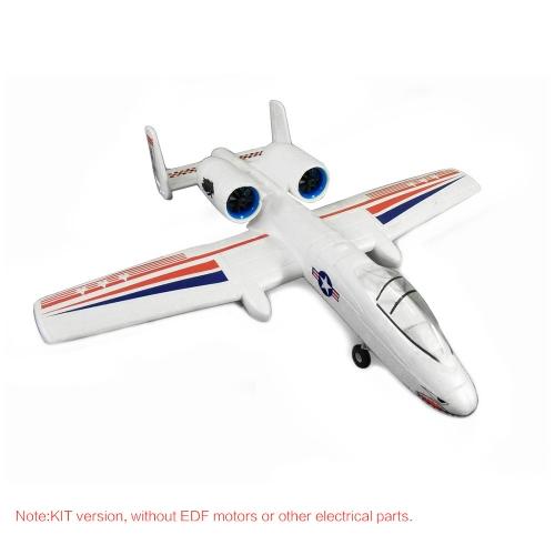 DW HOBBY Micro A-10 EPO 556mm Apertura alare Aircraft RC KIT KIT