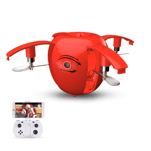 Original RC LEADING RC130W 720P Camera Wifi FPV Apple Drone Height Hold Folding Selfie G-sensor Quadcopter