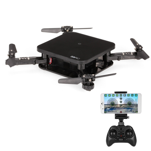 SMRC S1 Wifi FPV 2.0MP Caméra 3D Flip Altitude Tenir Pliable Mini RC Drone Quadcopter